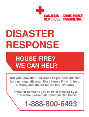Canadian Red Cross Poster.